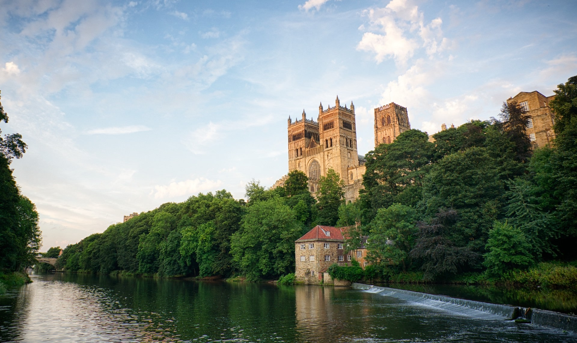 Durham Cathedral from the river